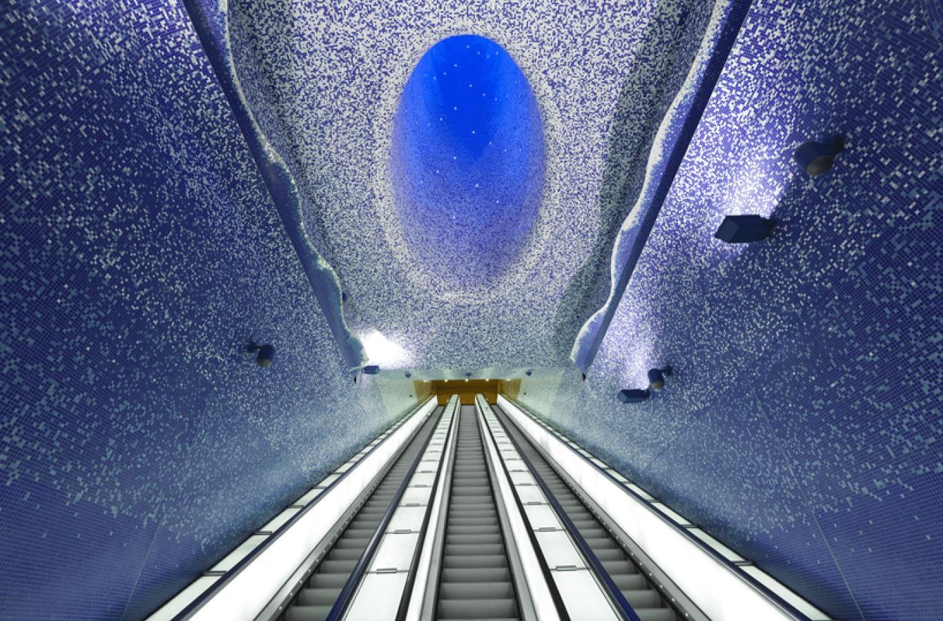 Stazione della Metropolitana di Toledo - Napoli